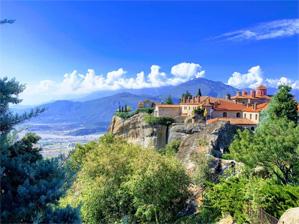 Meteora Greece Monasteries