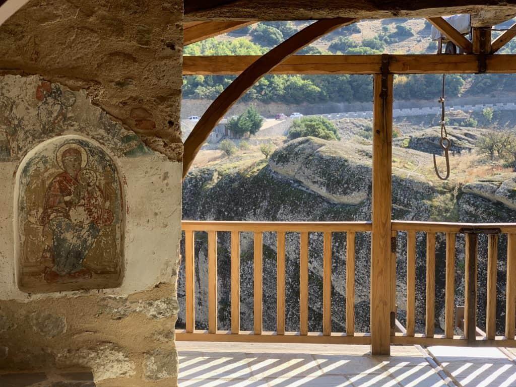Monastery of the Holy Trinity, Meteora Greece