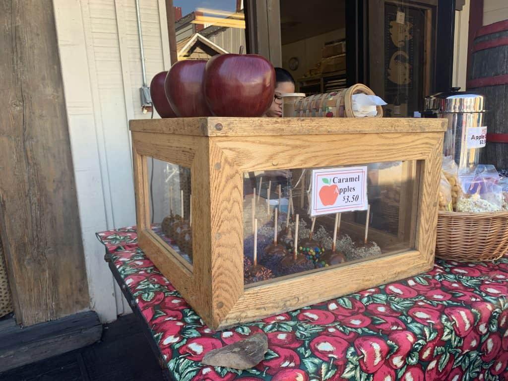 Apples in Julian, CA