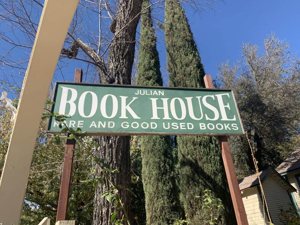 The Book House in Julian, CA