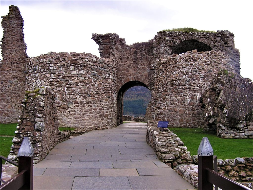 Entry to Urquhart Castle