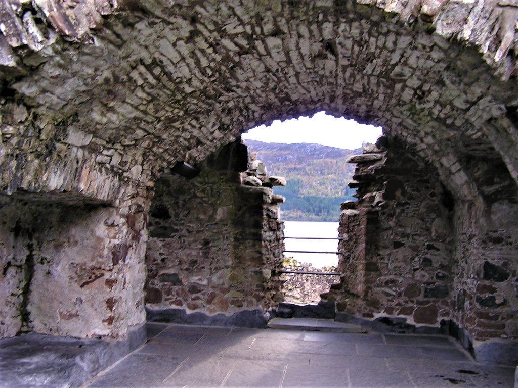 Portcullis Chamber Urquhart Castle
